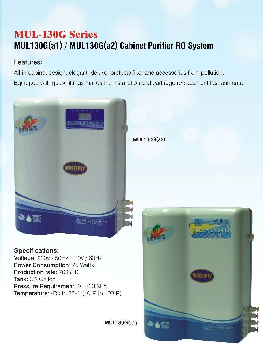Cabinet Purifier RO System